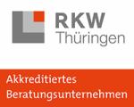 Logo: RKW Thüringen - Akkreditieres Beratungsunternehmen -