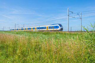 Foto: fahrende Bahn